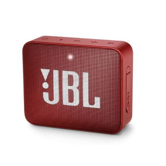 5 sur mini enceinte portable jbl go 2 bluetooth rouge mini enceinte achat prix fnac. Black Bedroom Furniture Sets. Home Design Ideas