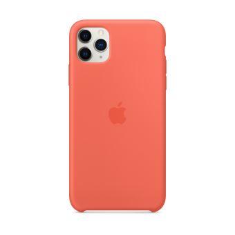 Coque en silicone pour iPhone 11 Pro Max Orange
