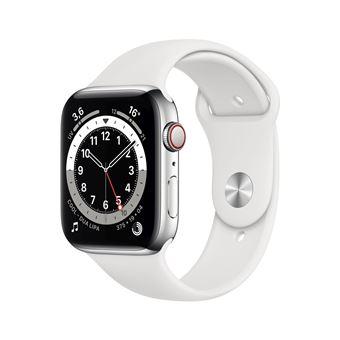 Photo de apple-watch-series-6-44mm-boitier-acier-argent