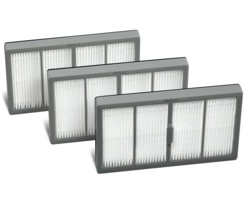 Pack de 3 filtres à haute efficacité Irobot pour aspirateur