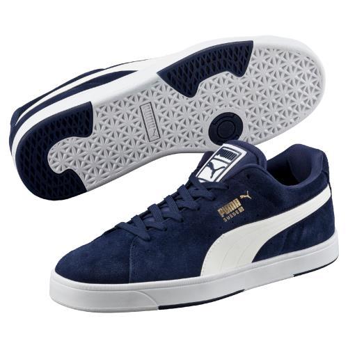 chaussures de sport 49560 ece63 S Marine Puma 43 Bleu Chaussures Taille Suède wqRntxHX ...