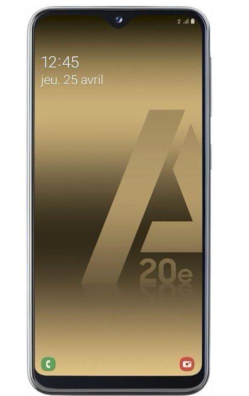 Smartphone Samsung Galaxy A20e Double SIM 32 Go Bleu