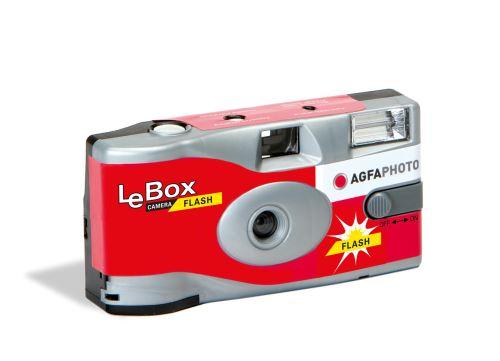 Appareil photo jetable Agfaphoto LeBox Camera Flash 400 27
