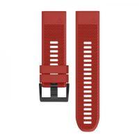 Garmin QuickFit - Horlogebandje voor GPS-horloge - vuurrood - voor D2; fenix 3, 5X; quatix 3; tactix Bravo