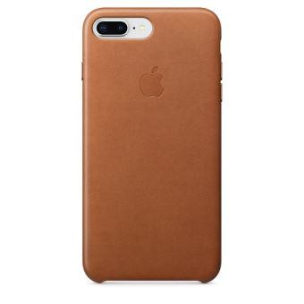 Coque en cuir Apple Havane pour iPhone 7 Plus et 8 Plus