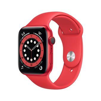 Photo de apple-watch-series-6-44mm-boitier-aluminium-productred