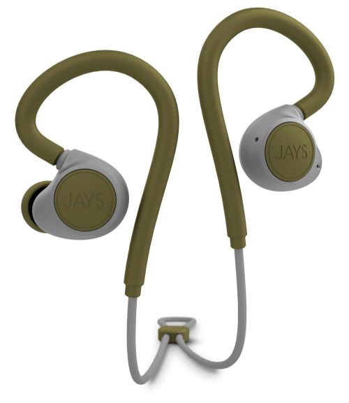 Ecouteurs intra-auriculaires Jays m-Six Bluetooth Vert