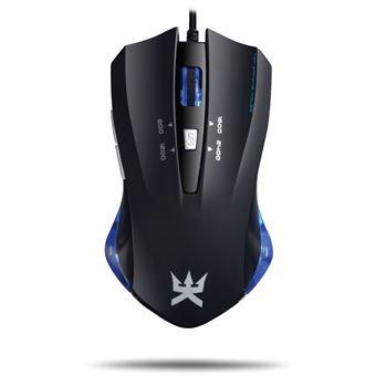 Souris Gaming Alpha Omega Players Morphée S9 Noir/Bleu