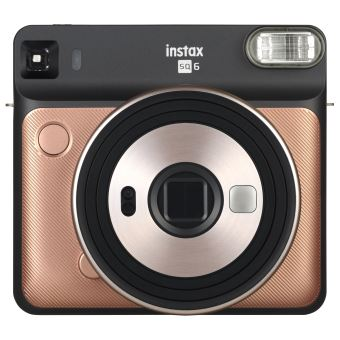 Fuji Instant Polaroid Camera SQ6 Blush Gold