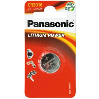 Panasonic CR2016L/1BP - batterie - CR2016 - Li