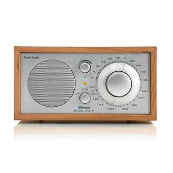 Radio Bluetooth Tivoli Audio Model One Merisier et Argent