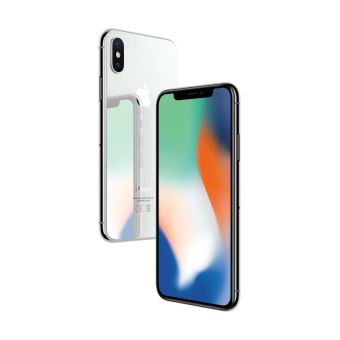 apple iphone x 64 go 5 8 argent smartphone achat. Black Bedroom Furniture Sets. Home Design Ideas