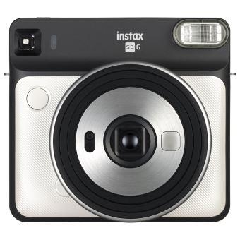 Fuji Instant Polaroid Camera SQ6 Pearl White