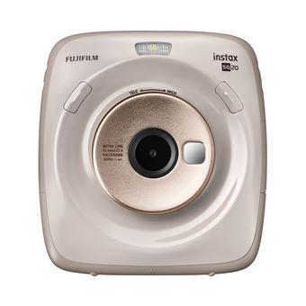 Fujifilm SQ20 Polaroid Camera Champagne