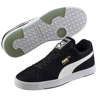 Noires Chaussures Suède Blanches Et Taille Puma 46 9IE2DHYeW
