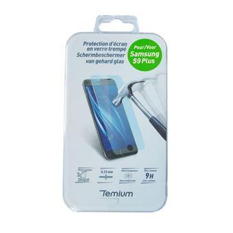 Protection d'écran en verre trempé Temium pour Samsung Galaxy S9+