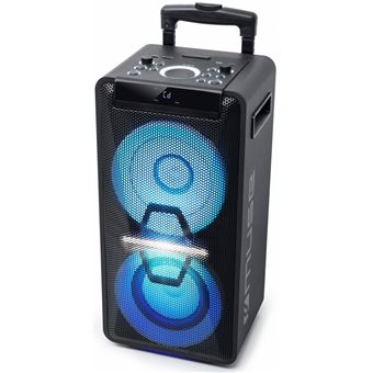 Micro-systeme Bluetooth Muse M-1920 DJ Karaoké Noir