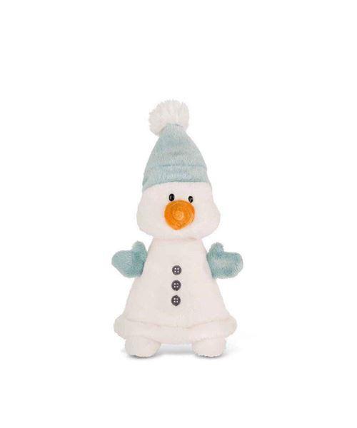 Peluche Nici Bonhomme de neige Flakejake 20 cm