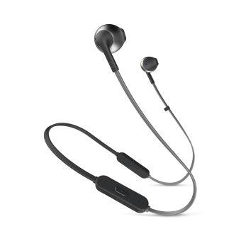 Ecouteurs JBL Tune 205 Bluetooth Noir