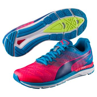 Chaussures de running Puma Speed 300 Ignite Rouges et Bleues Taille 41