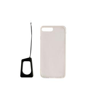 Coque de protection Temium Transparente avec support smartphone pour iPhone 6+, 6s+, 7+ et 8+
