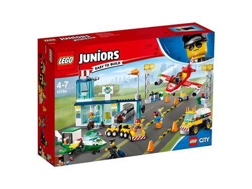LEGO® Juniors City 10764 L'aéroport City Central