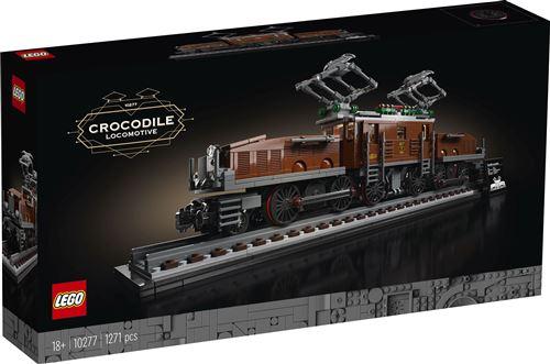 LEGO® Creator Expert 10277 La locomotive crocodile