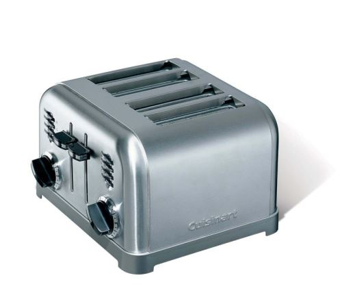 Grille pain Cuisinart CPT180GE 4 tranches 1800 W Argent