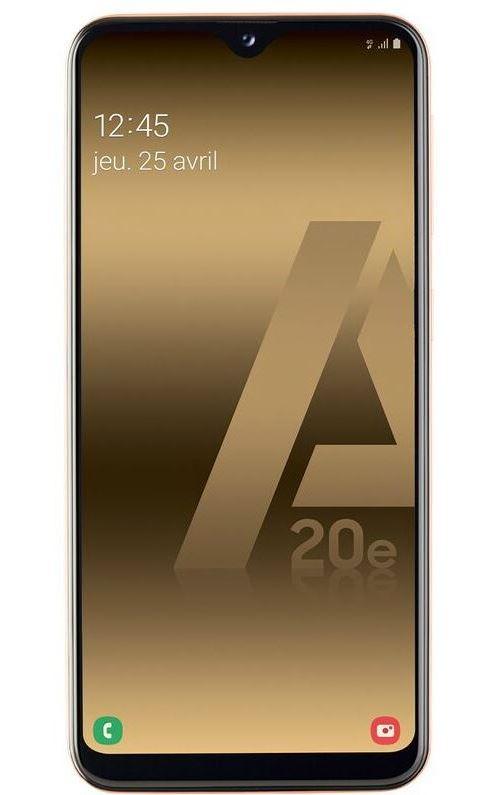 Smartphone Samsung Galaxy A20e Double SIM 32 Go Corail