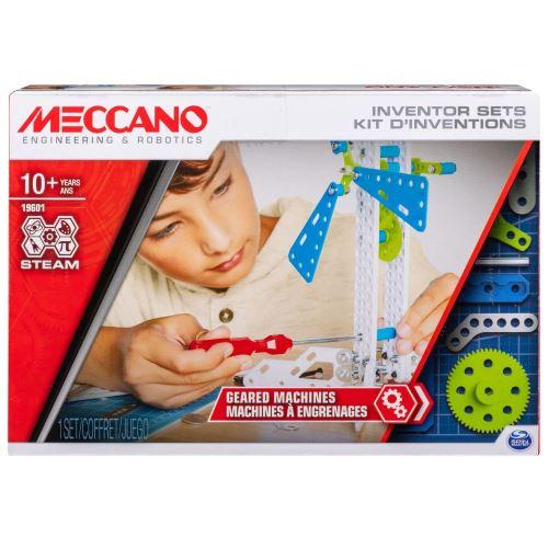 Kit d'inventions machines à engrenages Meccano