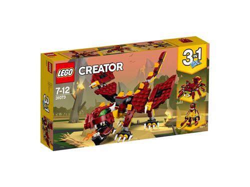LEGO® Creator 3 en 1 31073 Les créatures mythiques