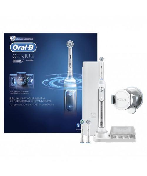 Brosse à dents électrique Oral B Genius Serie 8100 S Silver