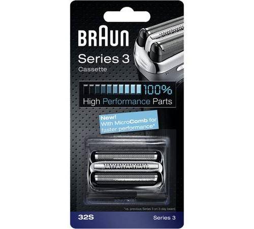 Tête de rasoir Braun cassette 32S Série 3