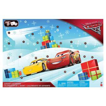 Cars 3 Adventkalender met 5 voertuigen in filmthema FGV14