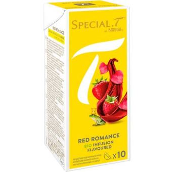 Special T capsules van Nestlé Red Romance