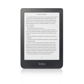 Kobo Clara HD Black Ebook Reader