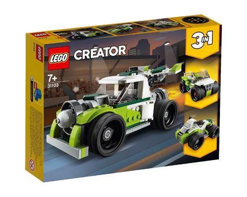 LEGO® Creator 31103 Le camion-fusée
