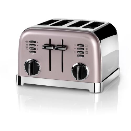 Grille pain Cuisinart CPT180PIE 4 tranches Rose