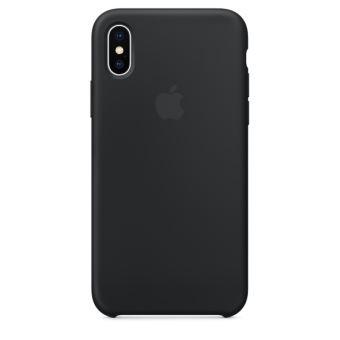 APPLE IPHONE X SILICONE CASE BLACK