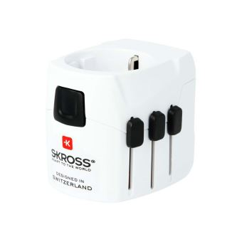 SKROSS WORLD TRAVEL ADAPTER PRO LIGHT USB