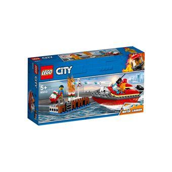 LEGO® City Action 60213 L'incendie sur le quai