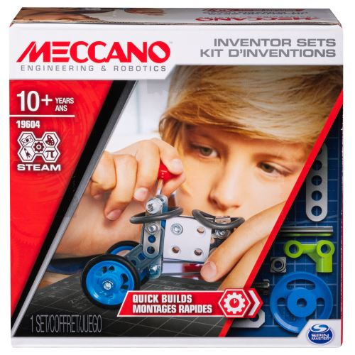 Kit d'inventions Meccano Montages