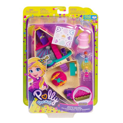 Playset Polly Pocket Gâteau d'Anniversaire