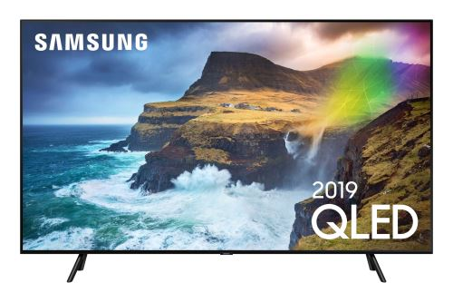"""Plus de détails TV Samsung 75Q70R QLED 4K Full LED Silver Smart TV 75"""""""