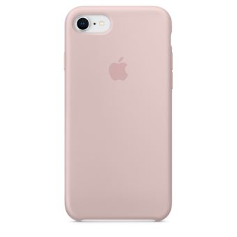 APPLE IPHONE 8 / 7 SILICONE CASE PINK SAND