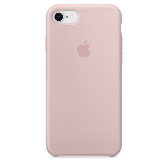 Coque en silicone Apple Rose des sables pour iPhone 7 et 8