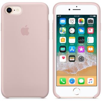coque apple iphone 8 rose des sables