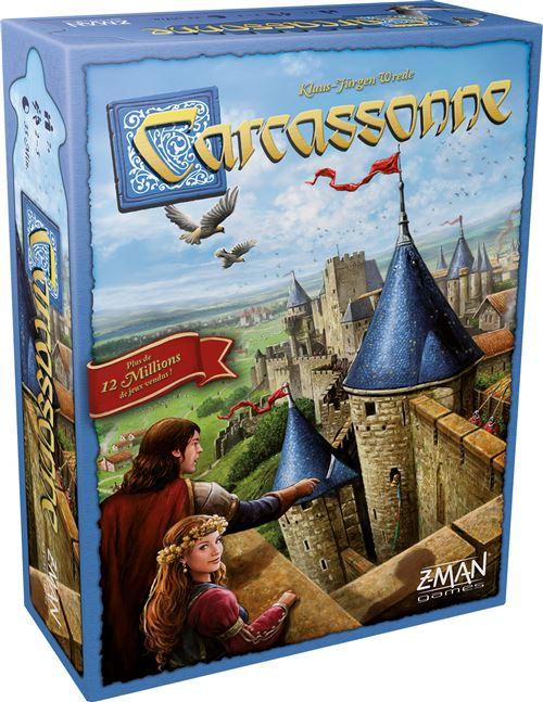 Jeu de stratégie Asmodée Carcassonne