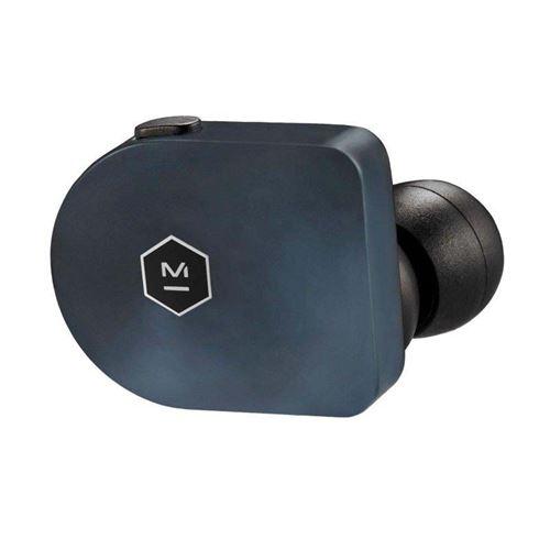 Ecouteurs sans fil True Wireless  Master & Dynamic MW07 Bleu acier