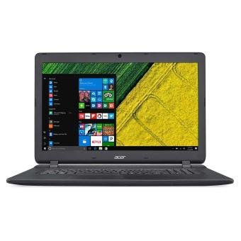 "Acer Aspire ES 17 ES1-732-P0H0 - Pentium N4200 / 1.1 GHz - Win 10 Home 64 bits - 4 GB RAM - 256 GB SSD - DVD-brander - 17.3"" 1600 x 900 (HD+) - HD Graphics 505 - Wi-Fi, Bluetooth - zwart - tsb Frans"